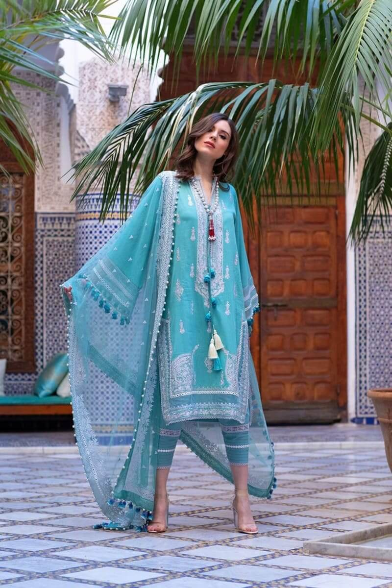 Sobia Nazir Luxury Lawn 2020 Designer Salwar Suits DESIGN 11B