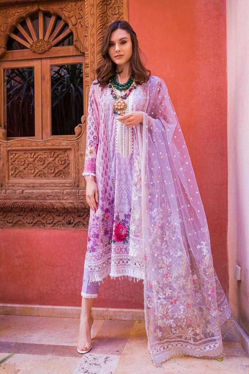Sobia Nazir Luxury Lawn 2020 Designer Salwar Suits DESIGN 13B