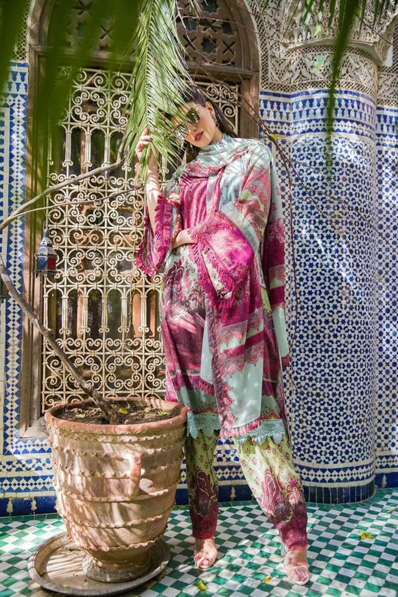 Sobia Nazir Luxury Lawn 2020 Designer Pakistani Suits DESIGN 14A