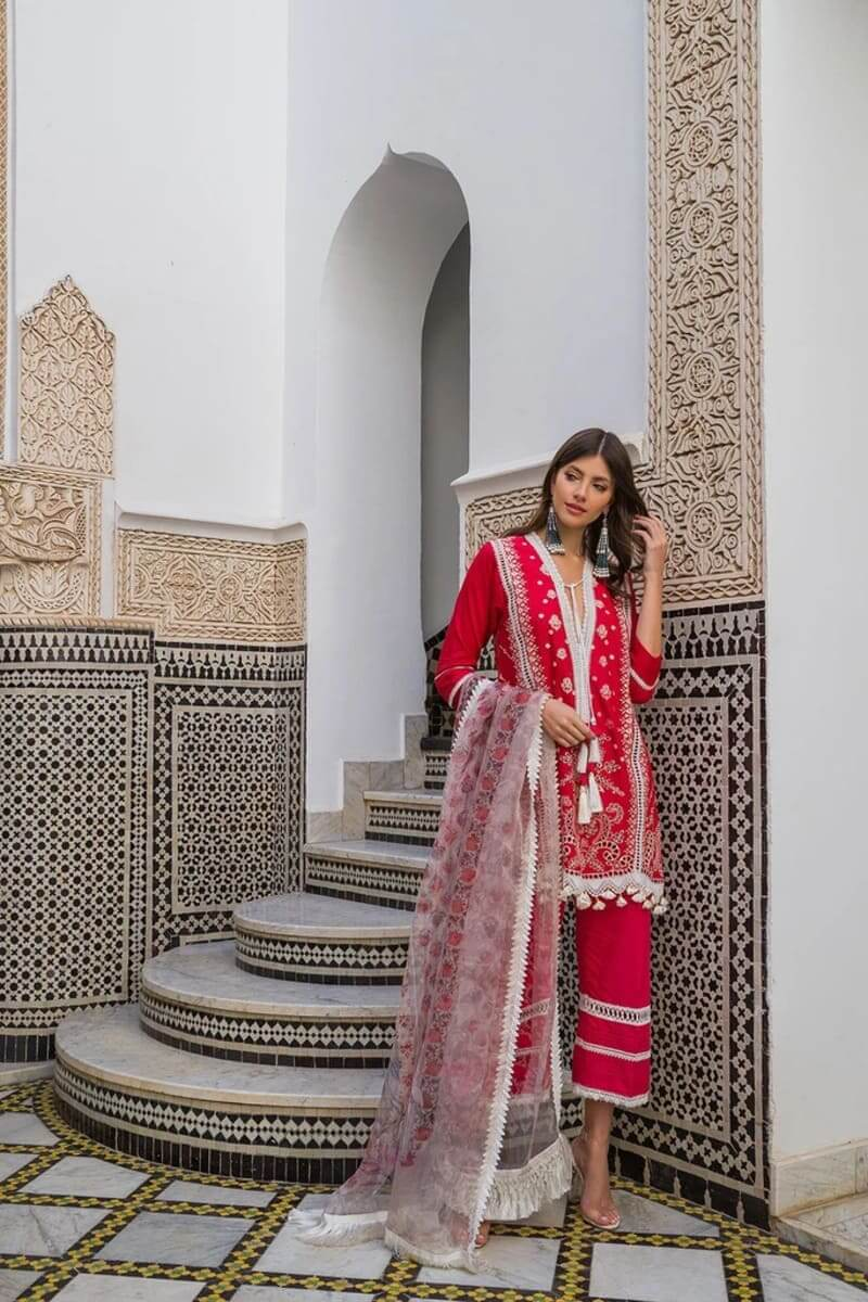 Sobia Nazir Luxury Lawn 2020 Designer Salwar Suits DESIGN 1B