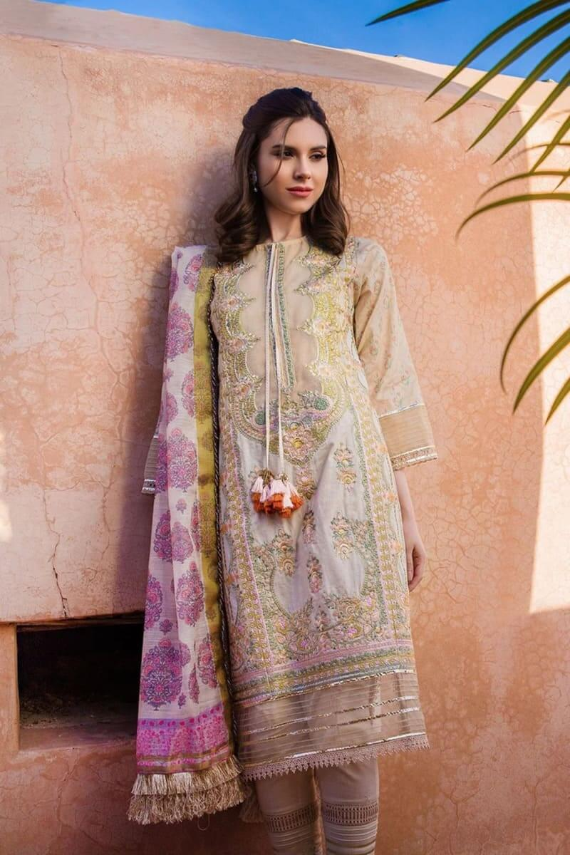 Sobia Nazir Luxury Lawn 2020 Designer Salwar Suits DESIGN 2B