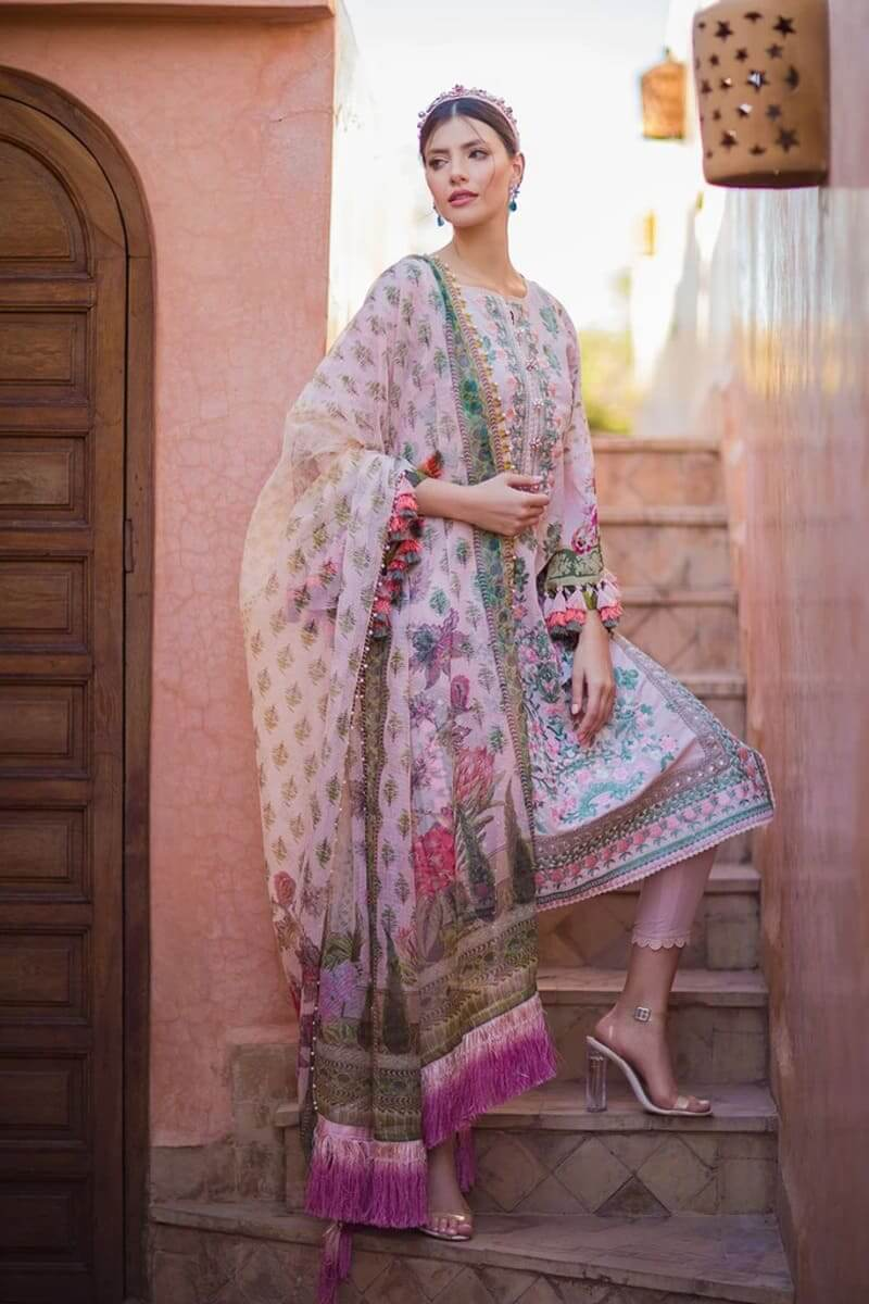 Sobia Nazir Luxury Lawn 2020 Designer Pakistani Suits DESIGN 3A