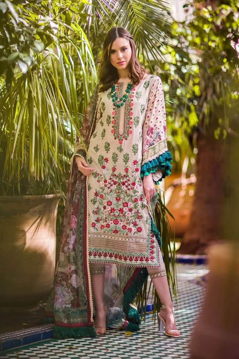 Sobia Nazir Luxury Lawn 2020 Designer Salwar Suits DESIGN 3B