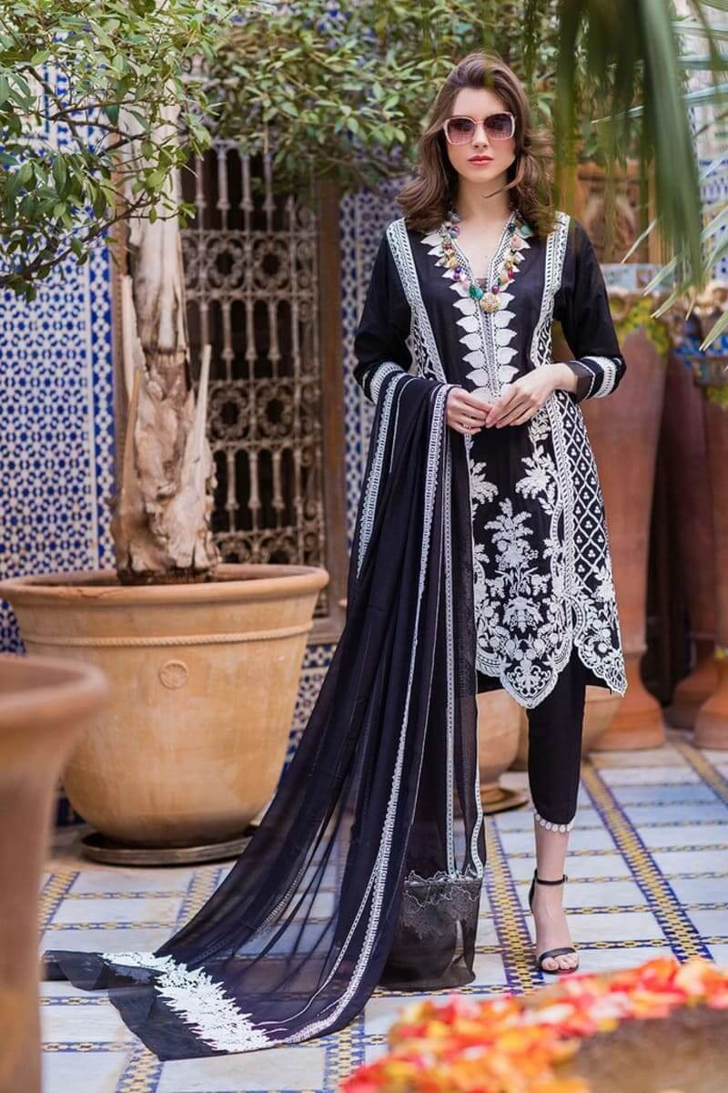 Sobia Nazir Luxury Lawn 2020 Designer Salwar Suits DESIGN 4B