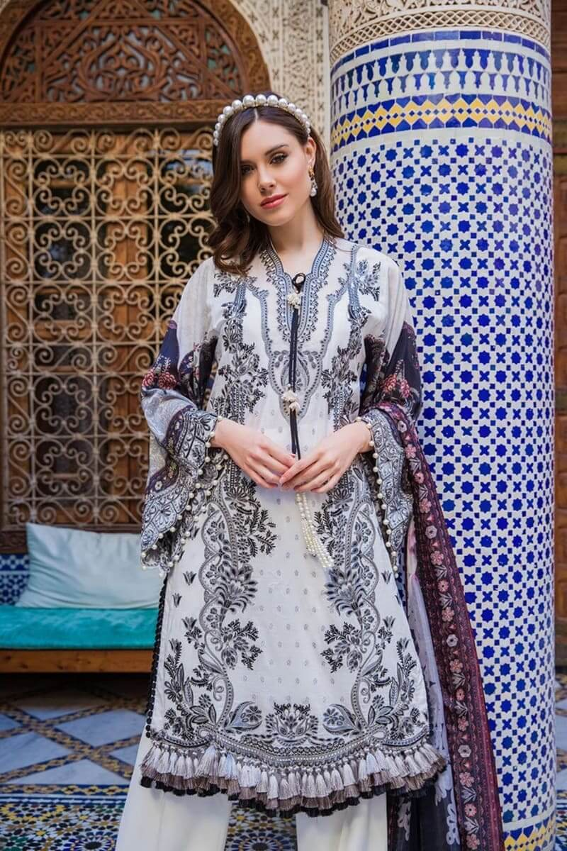 Sobia Nazir Luxury Lawn 2020 Designer Pakistani Suits DESIGN 6A