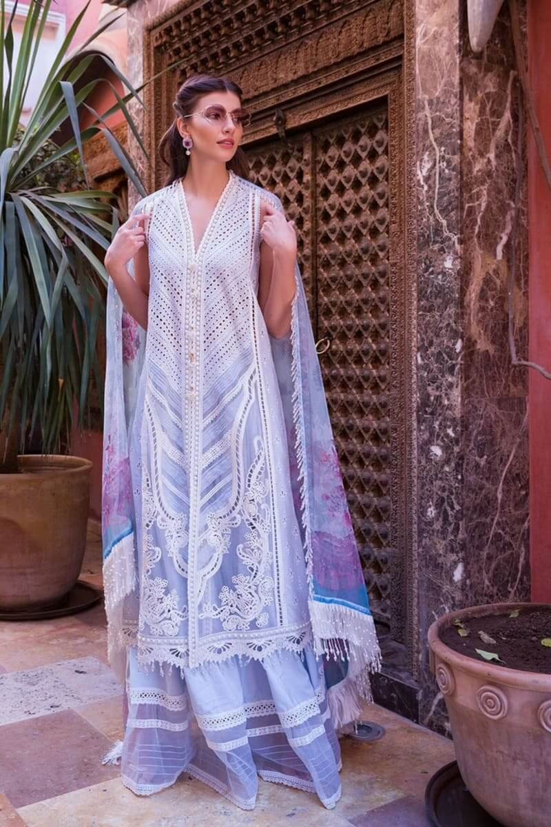Sobia Nazir Luxury Lawn 2020 Designer Pakistani Suits DESIGN 8A