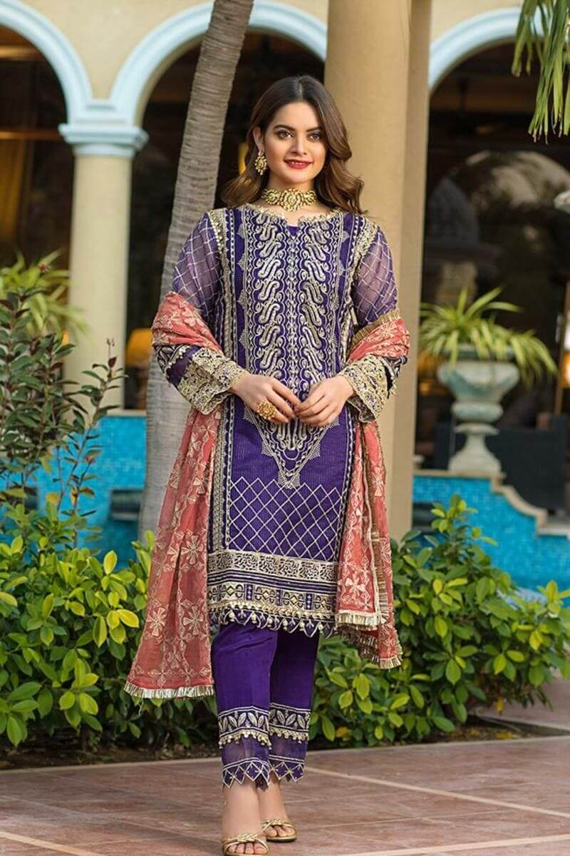 AlZohaib Formals Wedding Edition 2021 Pakistani Suits AZF-08