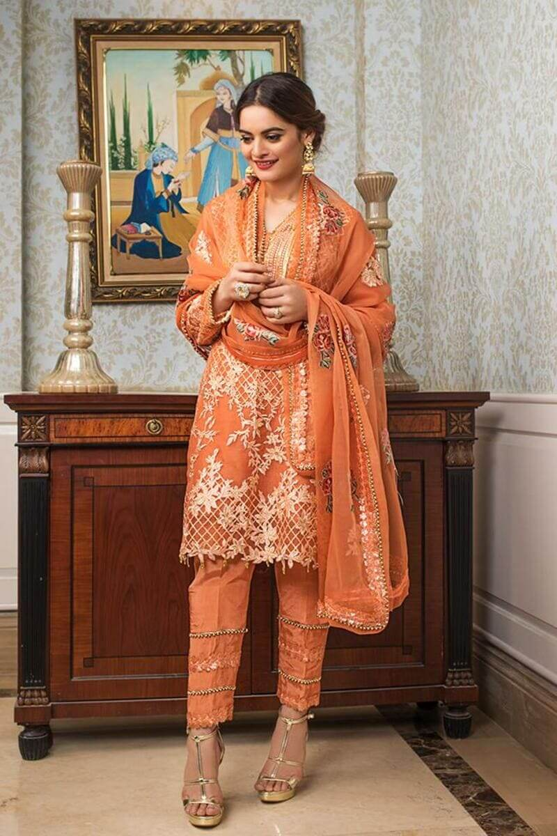 AlZohaib Formals Wedding Edition 2021 Pakistani Suits AZF-10