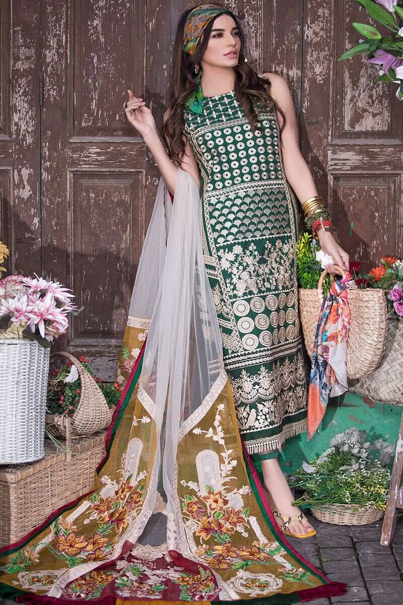 Liliana Lawn Spring Collection 2021 by Asifa Nabeel Irena LA-3