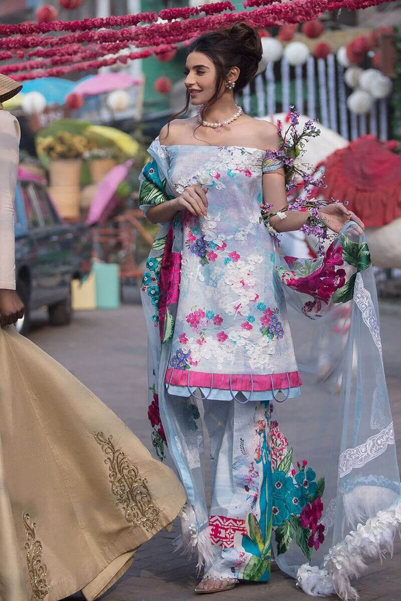 Liliana Lawn Spring Collection 2021 by Asifa Nabeel Montez LA-4