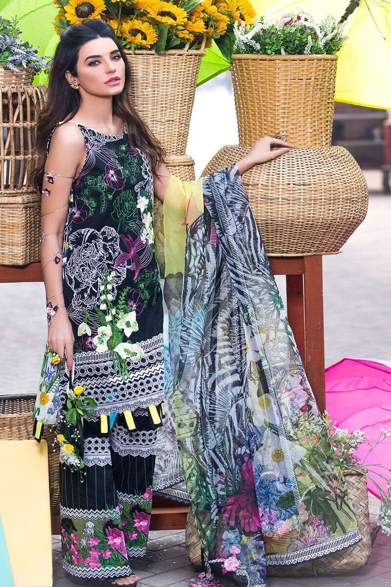 Liliana Lawn Spring Collection 2021 by Asifa Nabeel Leonor LA-5