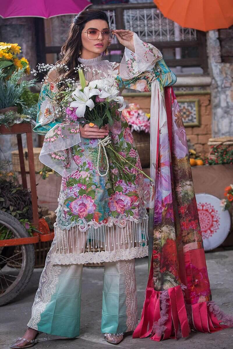Liliana Lawn Spring Collection 2021 by Asifa Nabeel Gladys LA-7