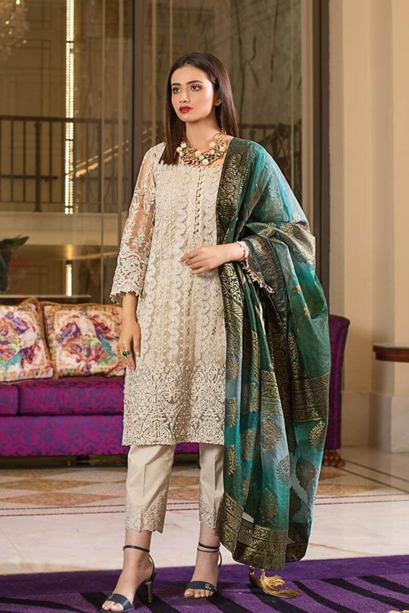 Mahiymaan Lawn Collection 2021 by Al Zohaib Pakistani Suits ML-01