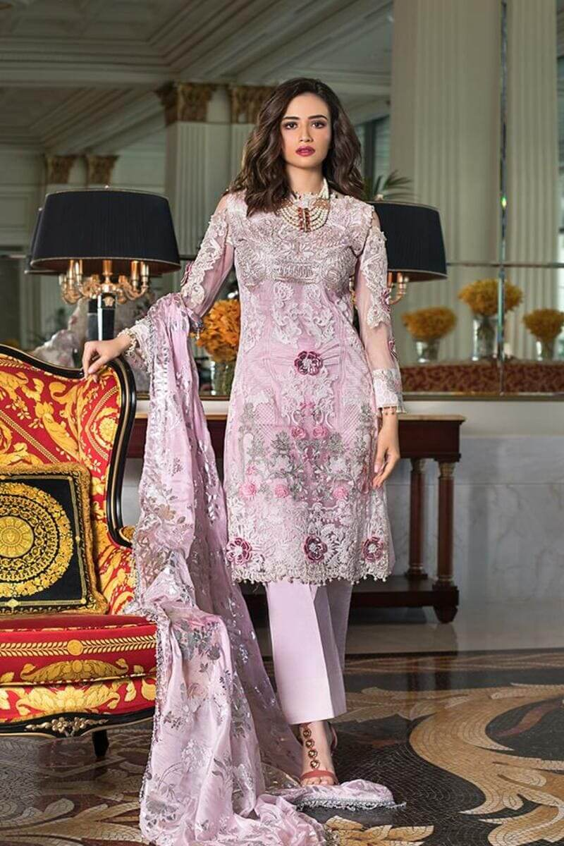Mahiymaan Lawn Collection 2021 by Al Zohaib Pakistani Suits ML-03