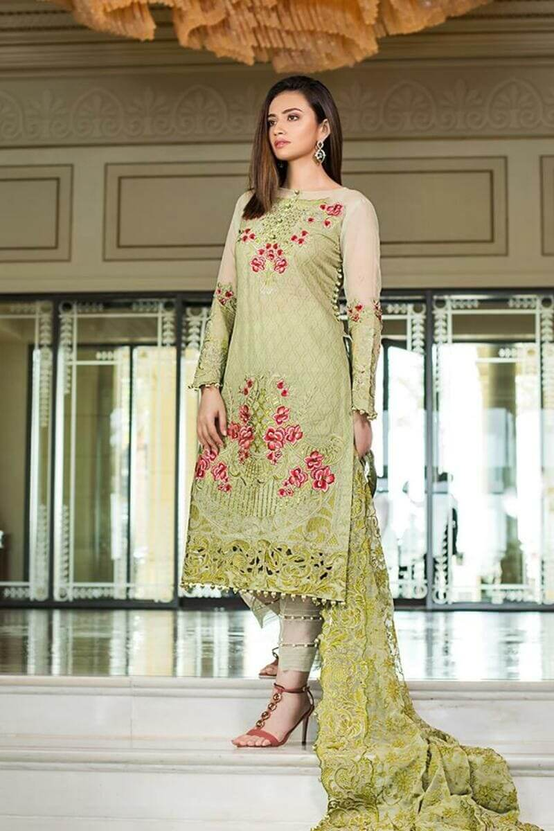 Mahiymaan Lawn Collection 2021 by Al Zohaib Pakistani Suits ML-05