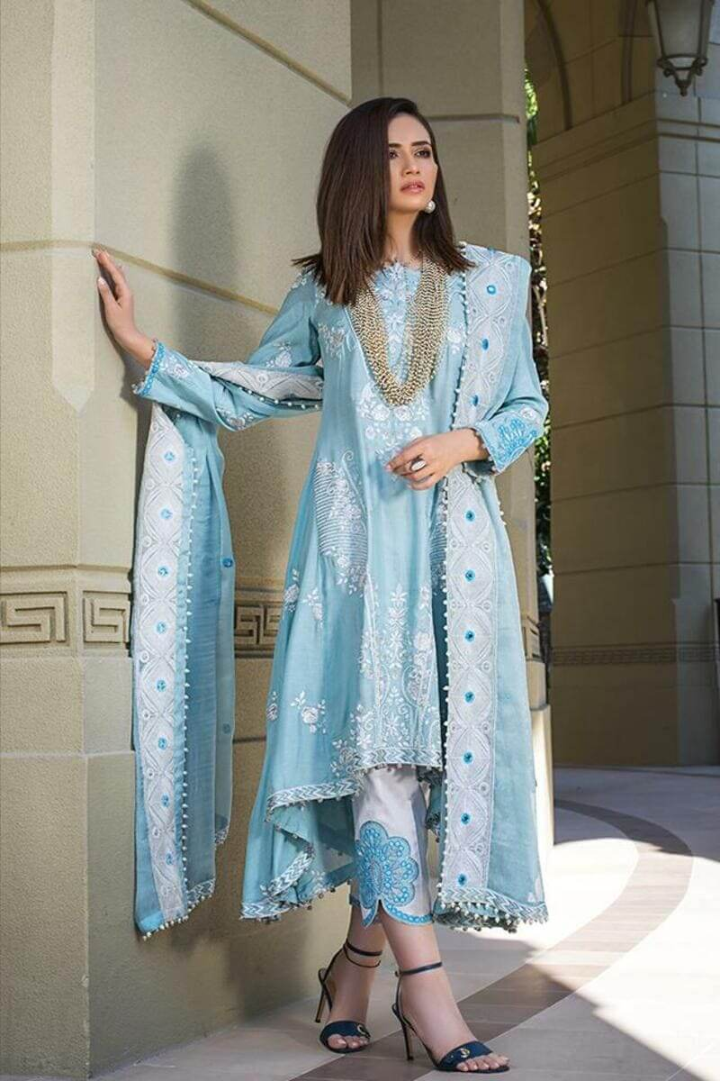 Mahiymaan Lawn Collection 2021 by Al Zohaib Pakistani Suits ML-06