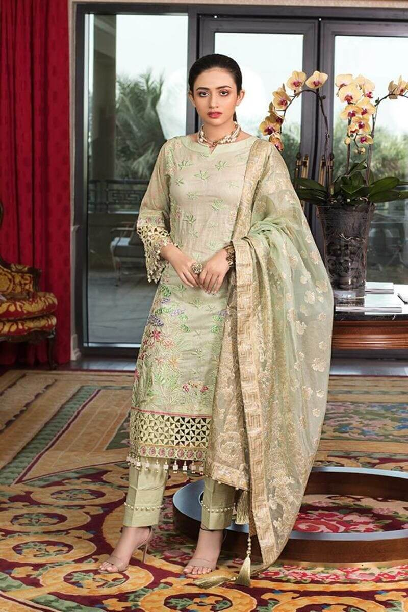 Mahiymaan Lawn Collection 2021 by Al Zohaib Pakistani Suits ML-10