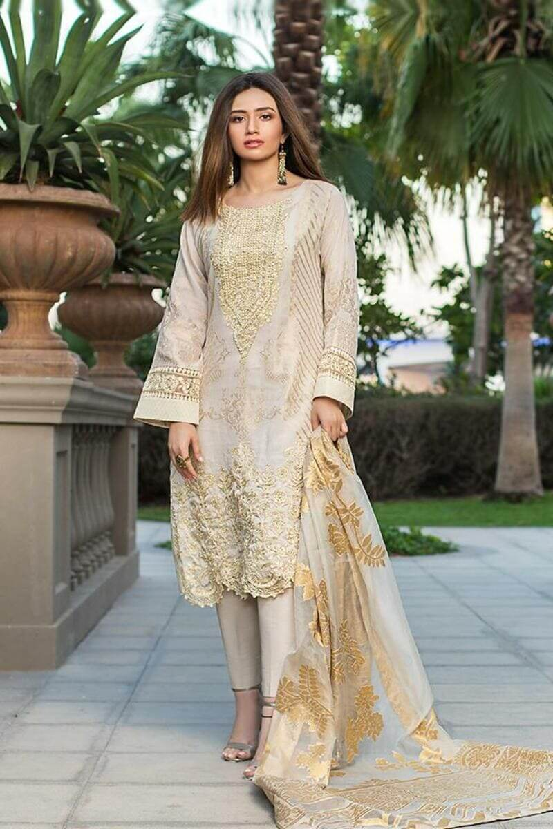 Mahiymaan Lawn Collection 2021 by Al Zohaib Pakistani Suits ML-12
