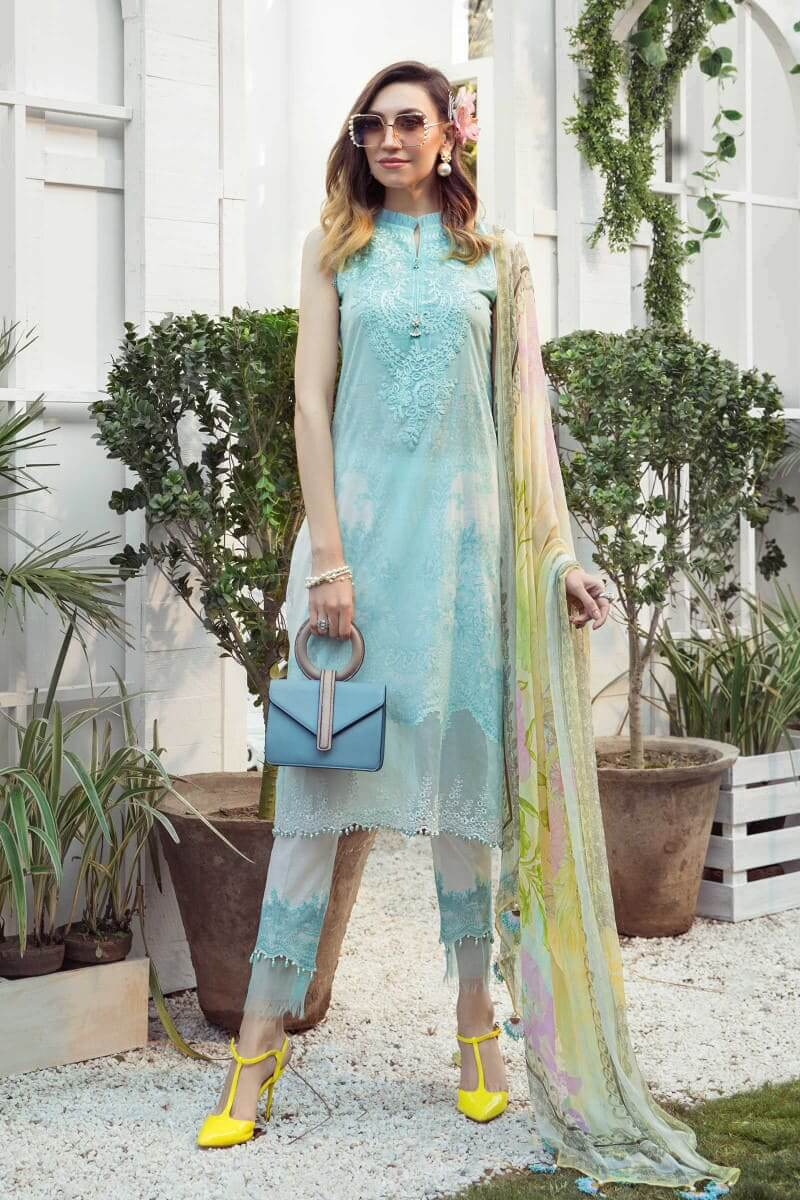 Mariab M.Prints Summer 2021 Pakistani Dresses MPT-1002-A