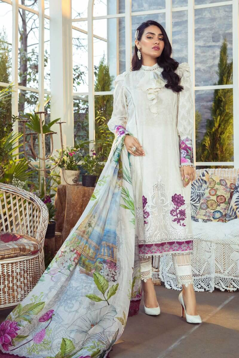 Mariab M.Prints Summer 2021 Pakistani Dresses MPT-1003-A