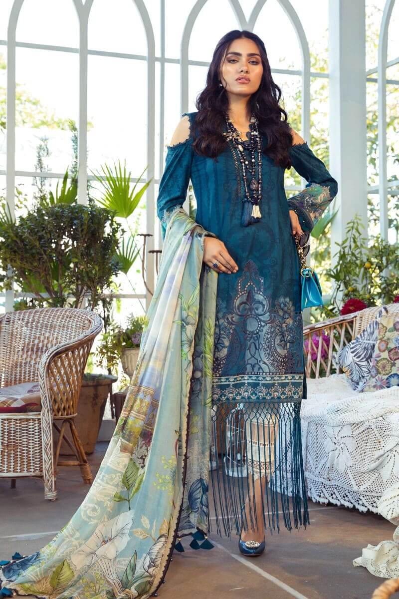 Mariab M.Prints Summer 2021 Pakistani Suits MPT-1003-B