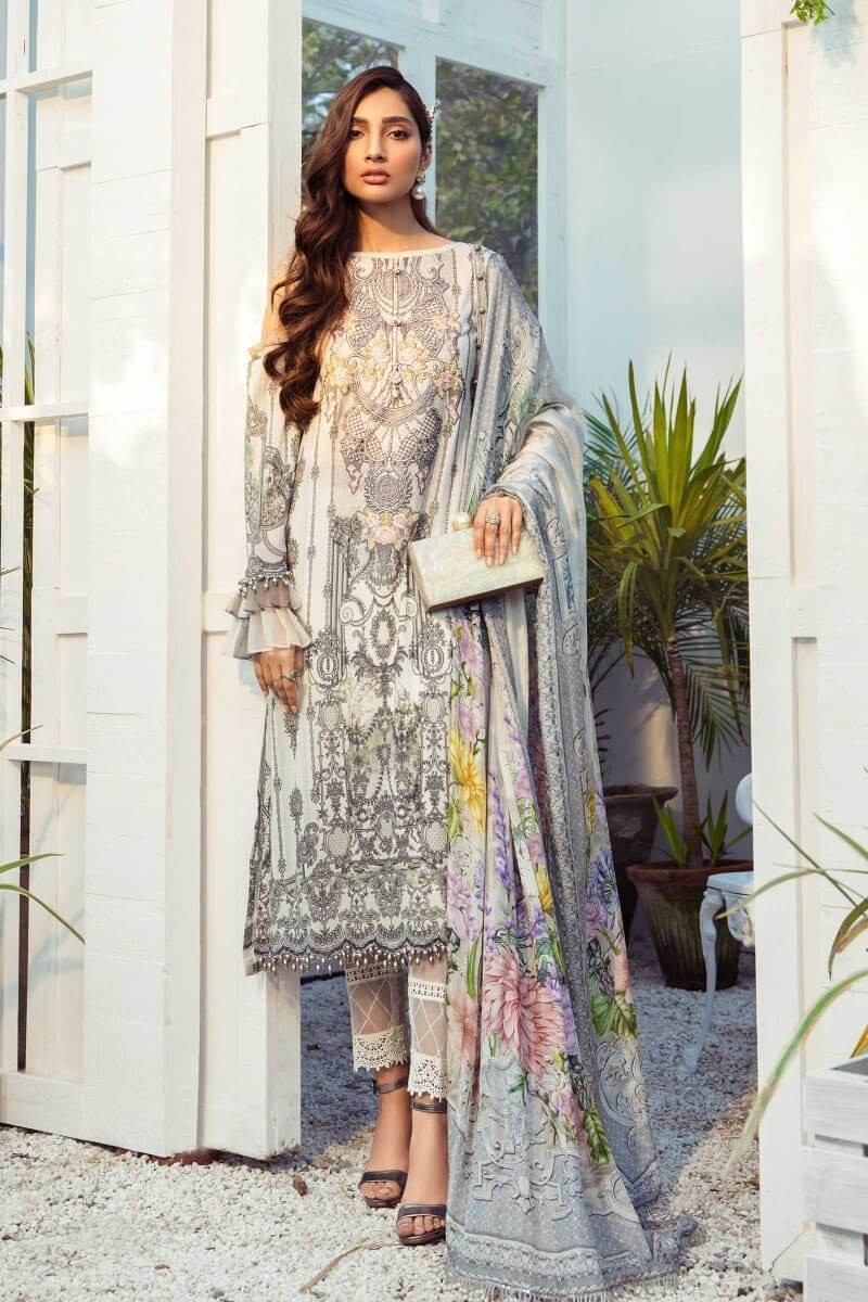 Mariab M.Prints Summer 2021 Pakistani Suits MPT-1005-B