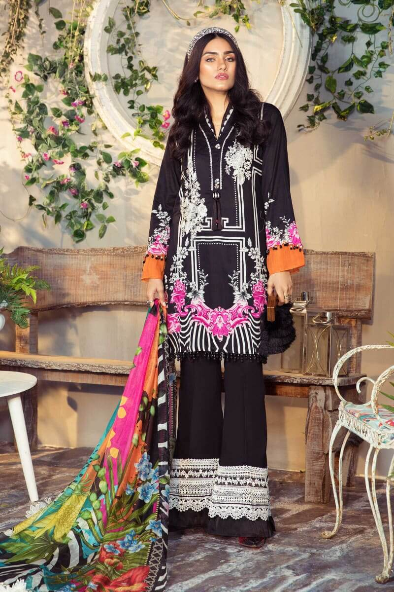 Mariab M.Prints Summer 2021 Pakistani Suits MPT-1006-B