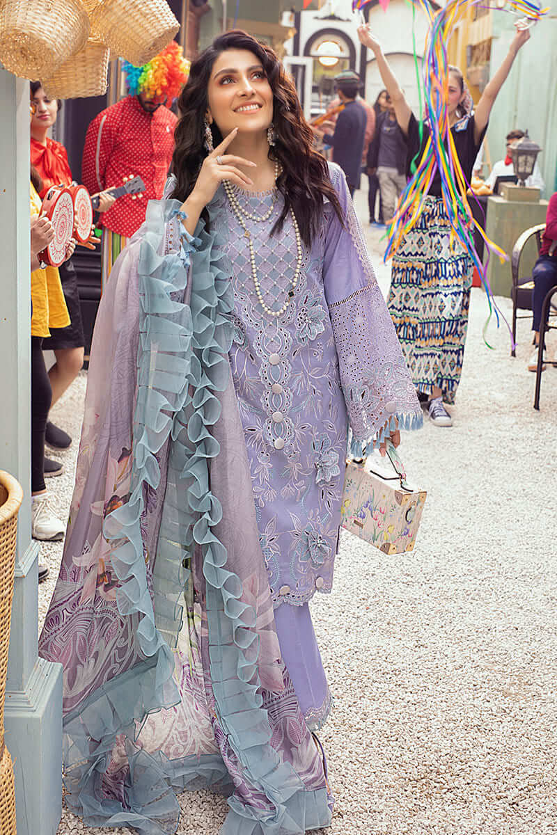 Mushq Lawn Collection 2021 Summer Suits MLL-02 HEATHER