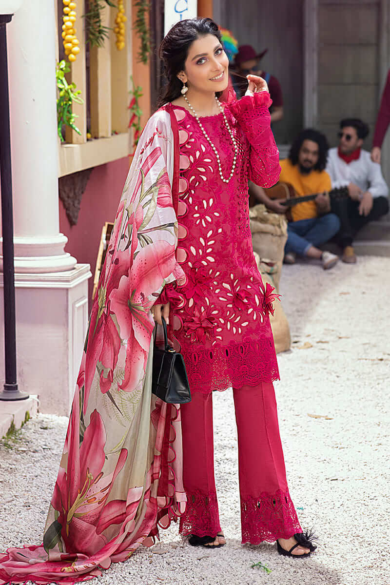 Mushq Lawn Collection 2021 Summer Suits MLL-04 RUBY WOO