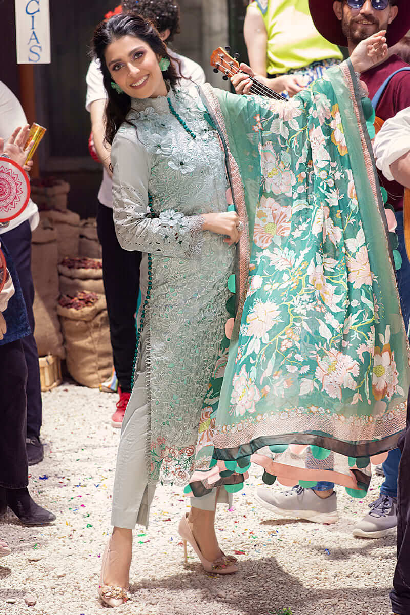 Mushq Lawn Collection 2021 Summer Suits MLL-08 SUMMER GLACIER