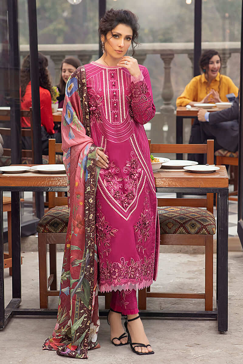Mushq Lawn Collection 2021 Summer Suits MLL-12 COSTA CHIC