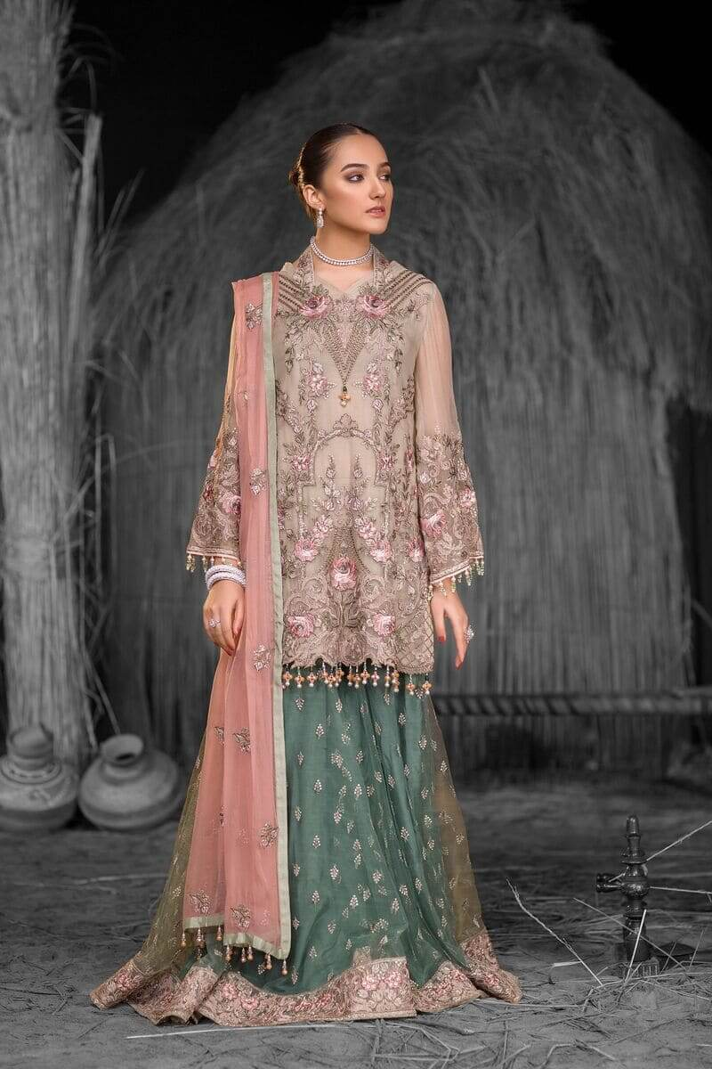 Flossie Safeera Luxury Chiffon Vol-7 Pakistani Suits S-712